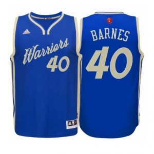 Canotte Barnes Christmas,Golden State Warriors Blauw