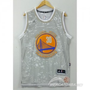 Canotte NBA Luces Warriors Curry Grigio