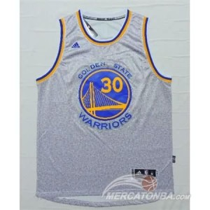 Canotte NBA Moda Warriors Curry Grigio