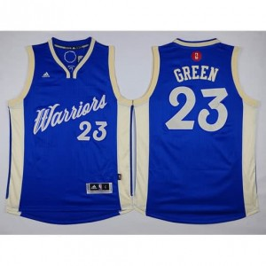 Canotte Green Christmas,Golden State Warriors Blauw
