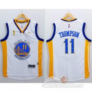 Canotte Thompson,Golden State Warriors Bianco