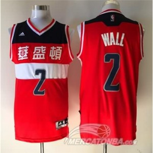 Canotte Wall,Washington Wizards Rosso