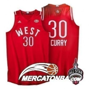 Canotte NBA Curry,All Star 2016 Rosso