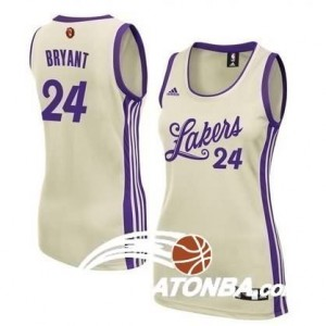 Canotte Donna Bryant Christmas,Cleveland Lakers