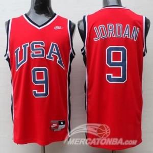 Canotte Jordan,USA 1984 Rosso