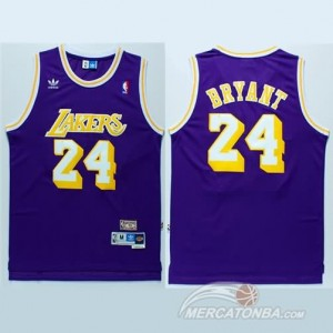 Canotte retro Bryant,Los Angeles Lakers Porpora