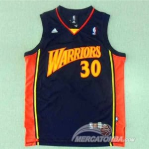 Canotte retro Curry,Golden State Warriors Blu