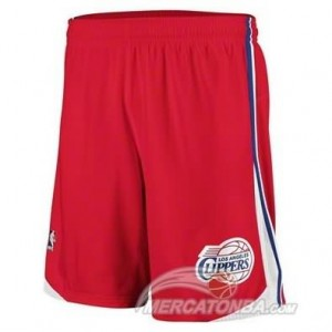 Pantaloni Los Angeles Clippers Rosso 2016