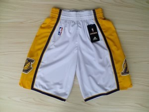 Pantaloni Los Angeles Lakers Bianco