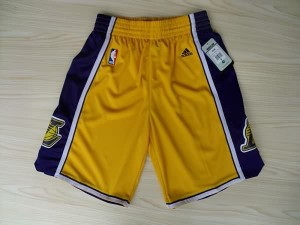 Pantaloni Los Angeles Lakers Giallo