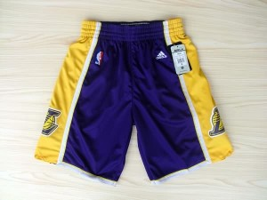 Pantaloni Los Angeles Lakers Porpora