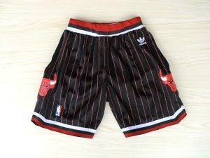 Pantaloni retro Chicago Bulls Nero