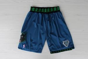 Pantaloni retro Minnesota Timberwolves Blu